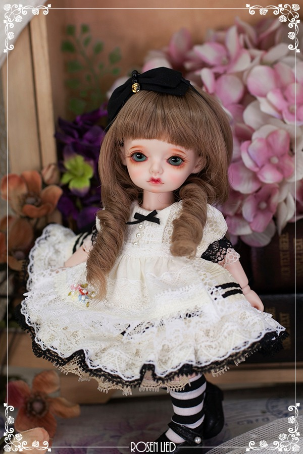 Limited Dress : Petit twins (lemon)