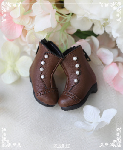 Classical ankle boots ver.2 (Brown)